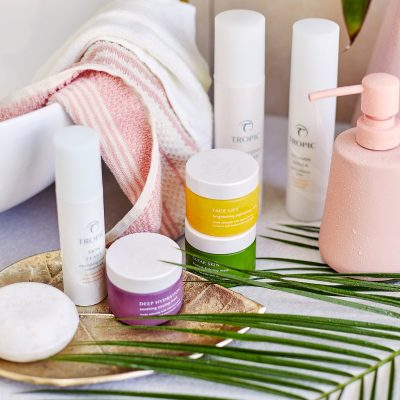 Tropic ABC skincare collection